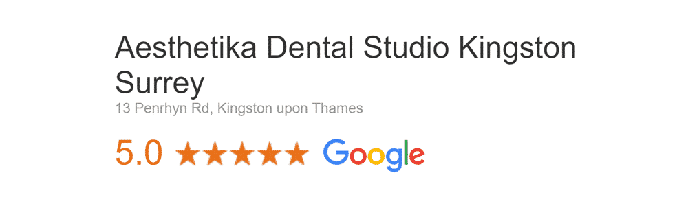 Aesthetika Kingston Google Reviews